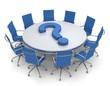 runder Tisch Fragezeichen
