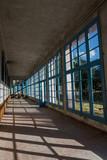 Interior de antiguo balneario desmantelado