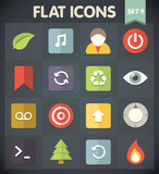 Universal Flat Icons for Web and Mobile Applications Set 9