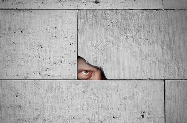 Stalker watching