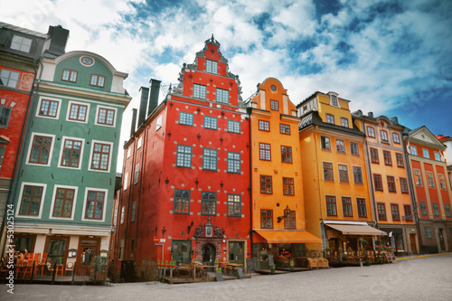 Foto op Plexiglas Scandinavië Stockholm