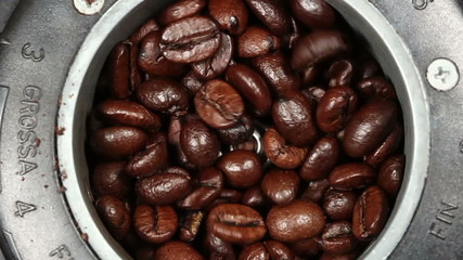 preparation of coffee