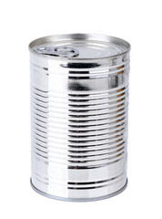 plain tin can
