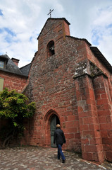 chapelle sur la place - Collonges la Rouge
