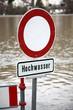 Hochwasser Schild - 53029952
