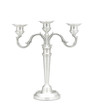 Beautiful pewter candlestick for home decoration
