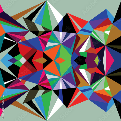 Abstract background triangles vactor 0048