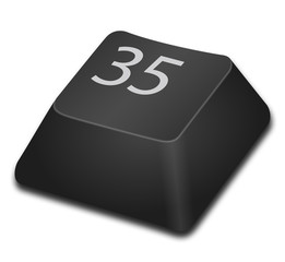 Computer Key - 35