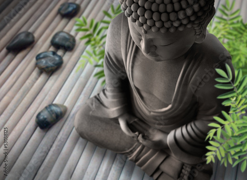 canvas print picture Buddha-Wellness