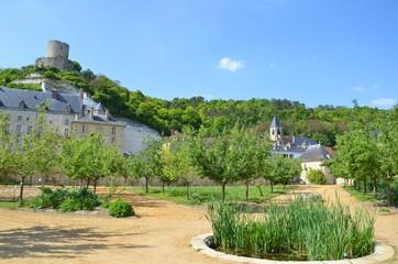 Village de La Roche Guyon, potager du château