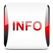 Info button rot