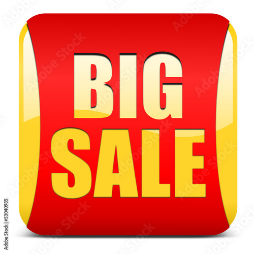 BIG SALE, button