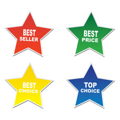 Star stickers -Bestseller,price,choice,top seller