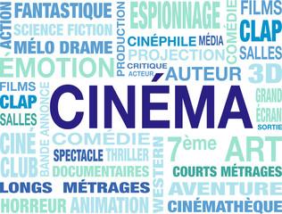 nuage de mots cinéma