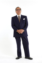 スーツ姿の経営者