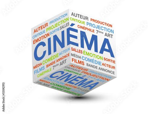 cube 3d cinéma