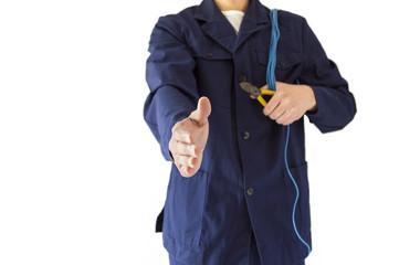 handshake electrician