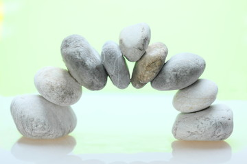 runder Steinbogen