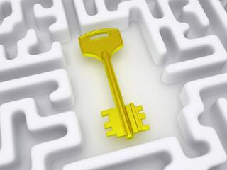Key to labyrinth.