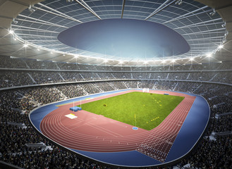 Leichtathletik Stadion