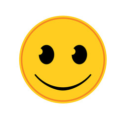 Emoticon - Happy
