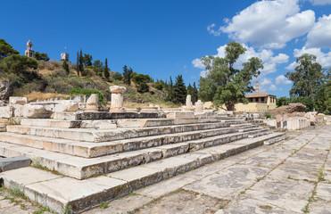 Greater Propylaia, ancient Eleusis, Attica, Greece