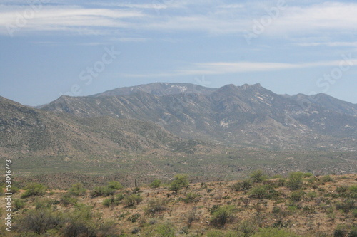 Sonoran Desert Landscape in Southern Arizona