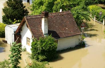 Hochwasser und Überflutung - Regensburg