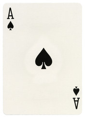 Playing Card - Ace of Spades