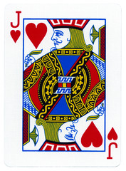 Playing Card - Jack of Hearts