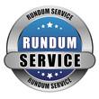 5 Star Button blau RUNDUM SERVICE DO DTO