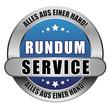 5 Star Button blau RUNDUM SERVICE AAEH AAEH