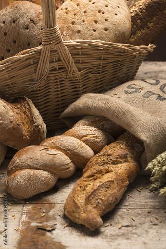 Brotsorten -Sortiment
