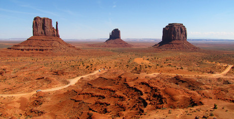Monument Valley  ( Arizona, Etats-unis)