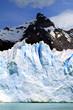 Glacier and Mountain Peak