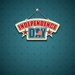 Independence day American signs background