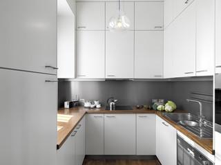 dettaglio sulla cucina, moderna