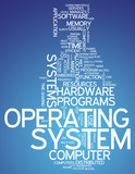 "Word Cloud ""Operating System"""