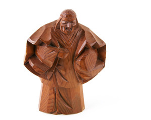 Wise Man Woodcarving
