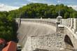 Zapora nad rzeką Bobr