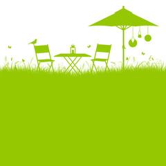 Garden Background Green