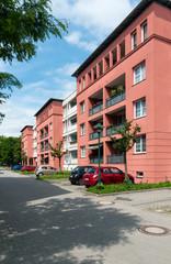 Neu gebaute Wohnanlage in Frankfurt/Oder, Deutschland
