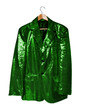 green sequin jacket