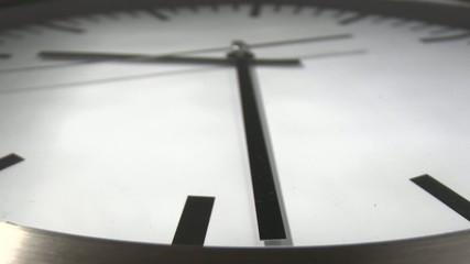 Uhr Zeiraffer