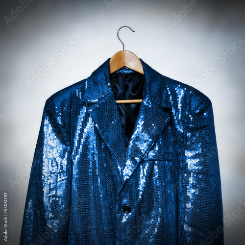 blue showman jacket