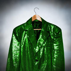 green showbiz jacket