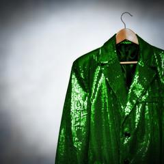 green showman jacket
