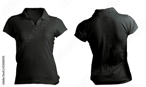 ladies black t shirt template - photo #18