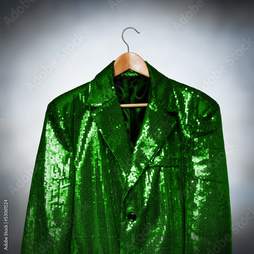 green showbiz jacket