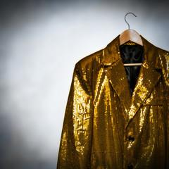 yellow showman jacket